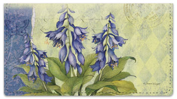 Cottage Garden Checkbook Cover