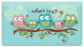 Whoo's Cute Checkbook Cover