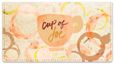 Cup of Joe Checkbook Cover
