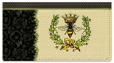 Queen Bee Checkbook Cover