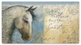 Winget Horse Checkbook Cover