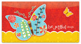 Be Joyful Checkbook Cover