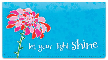 Blooming Gorgeous Checkbook Cover