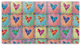 Patchwork Heart Checkbook Cover