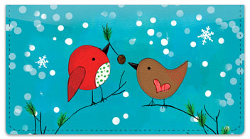 Chirp Chirp Cheer Checkbook Cover