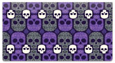 Damask Skull Checkbook Covers