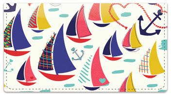 Nautical and Nice Checkbook Cover