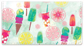 Popsicle Delight Checkbook Cover