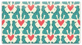 Primped Poodles Checkbook Cover