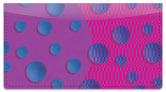 KAB Designs Bubble Checkbook Cover