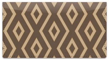 15 Diamond Row Checkbook Cover