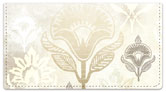 Soft Enchanted Lotus Checkbook Cover