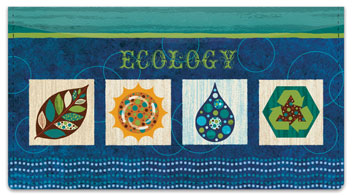 Gina Linn Eco Checkbook Cover