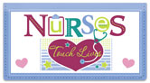 Linn Nurse Checkbook Cover