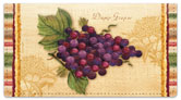 Vintage Fruit Checkbook Cover