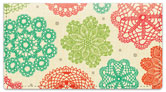 Doily Dots Checkbook Cover