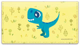 Dino Checkbook Cover