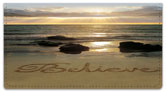 Inspirational Sand Scribbles Checkbook Cover