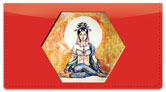 Quan Yin Checkbook Cover