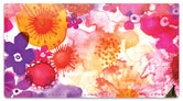 Spring Floral Checkbook Cover