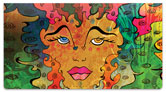 Valencia-Bruch Pop Art Checkbook Cover