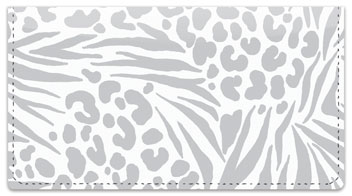 Marisu Valencia Safari Checkbook Cover