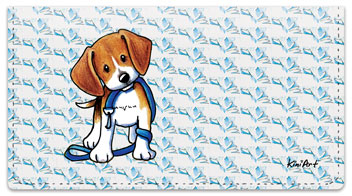 Beagle Checkbook Cover