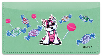 Miss Olivia Checkbook Cover