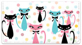 Kitty Galore Checkbook Cover