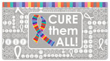 Cancer - Cure Them All Checkbook Cover