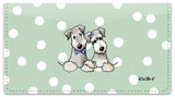 Cesky Terrier Checkbook Cover