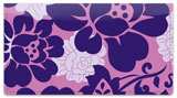 Rose Noir Checkbook Cover