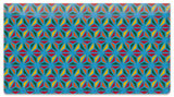 Starburst Lattice Checkbook Cover