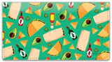 Fiesta Food Checkbook Cover