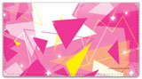 Geometric Sparkle Checkbook Cover