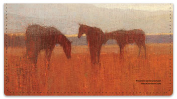 Pastoral Checkbook Cover