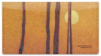 Poetic Landscape Checkbook Cover