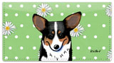 Pembroke Welsh Corgi Checkbook Cover