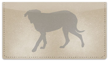 Mastiff Checkbook Cover
