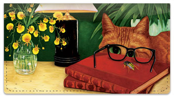 Tabbies and Torties Checkbook Cover
