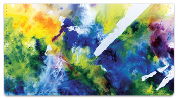 Abstract 2 Checkbook Cover
