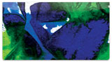 Abstract 6 Checkbook Cover