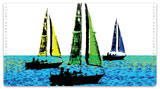 Sailboats Checkbook Cover