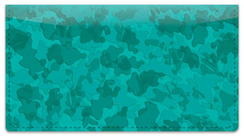 Water Camo Checkbook Cover