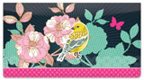 Birds and Blooms Checkbook Cover