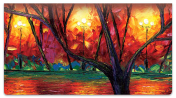 Sunset Serenade Checkbook Cover