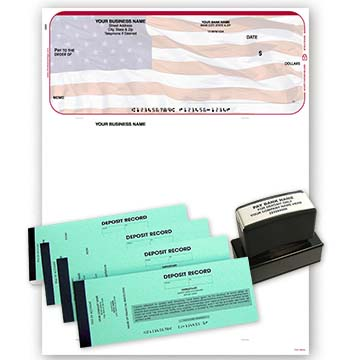 American Flag QuickBooks and Quicken Kit