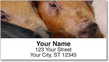 Hog Heaven Address Labels