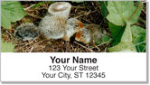 Twin Baby Animal Address Labels