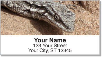 Reptile & Amphibian Address Labels